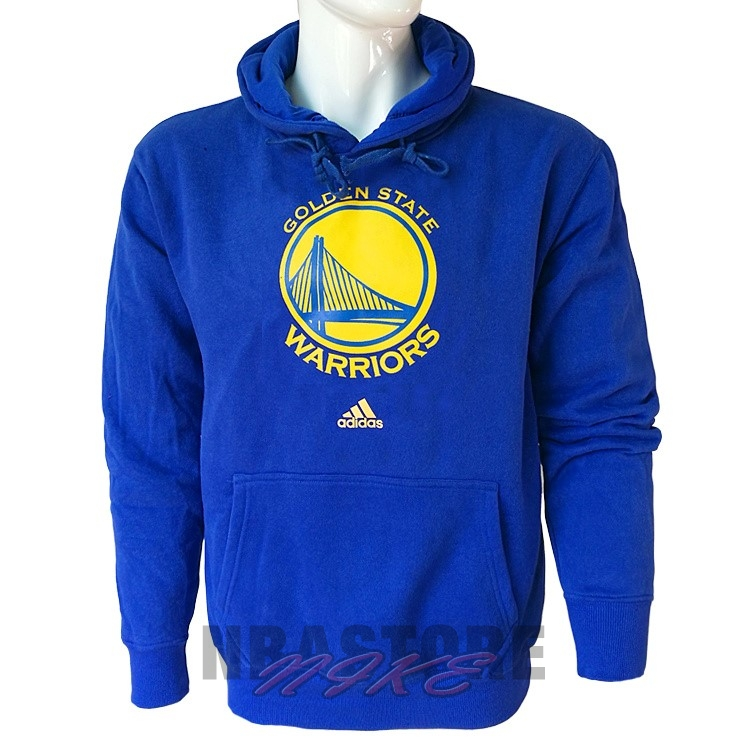 Felpe Con Cappuccio NBA Golden State Warriors Blu City