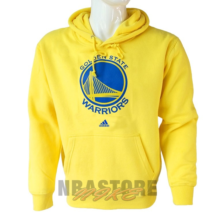 Felpe Con Cappuccio NBA Golden State Warriors Giallo City