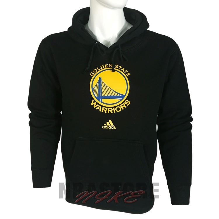 Felpe Con Cappuccio NBA Golden State Warriors Nero City