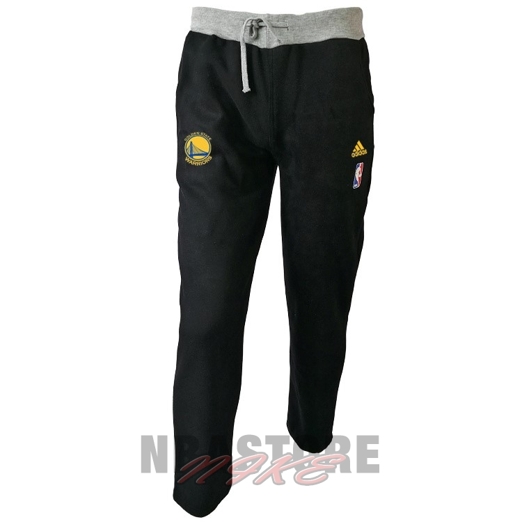 Giacca Pantaloni Basket Golden State Warriors Nero