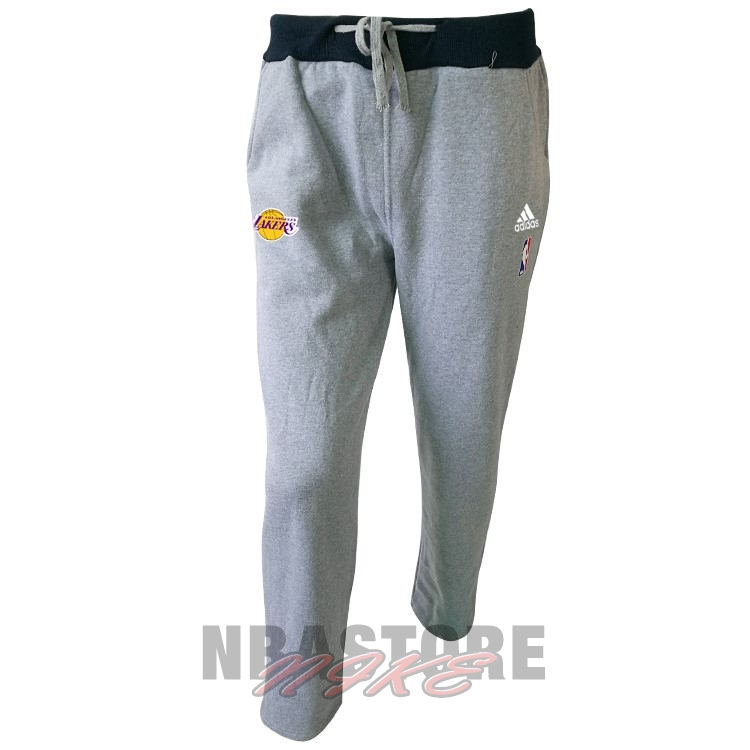 Giacca Pantaloni Basket Los Angeles Lakers Grigio