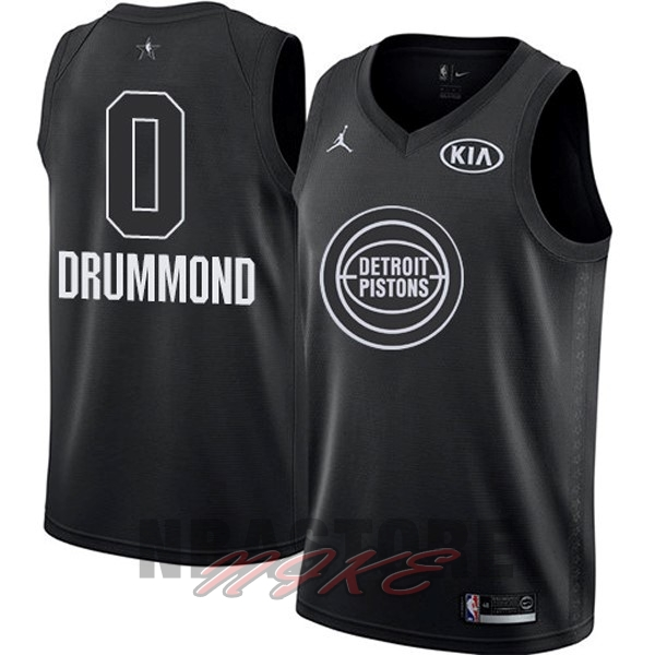 Maglia NBA 2018 All Star NO.0 Andre Drummond Nero