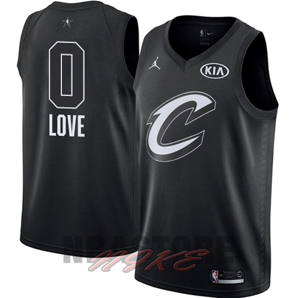 Maglia NBA 2018 All Star NO.0 Kevin Love Nero