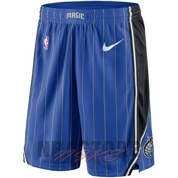 Pantaloni Basket Orlando Magic Nike Blu