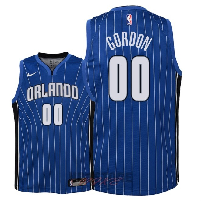 Maglia NBA Bambino Orlando Magic NO.0 Aaron Gordon Blu Icon 2018