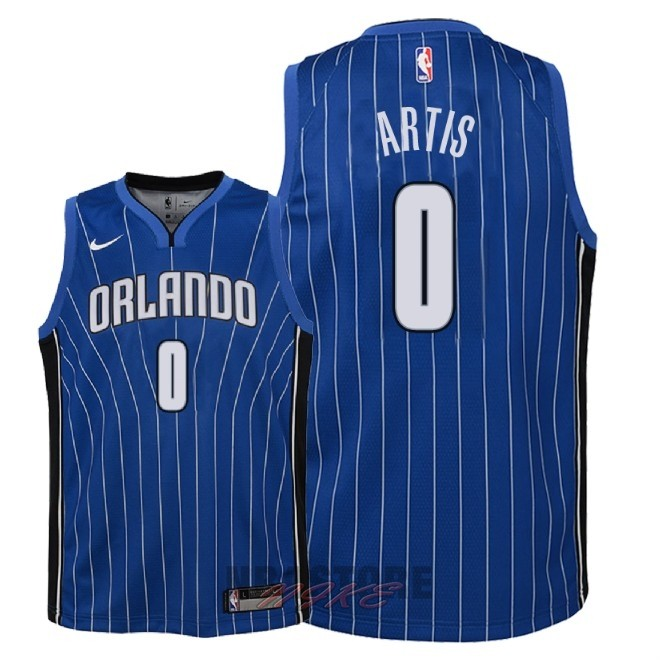 Maglia NBA Bambino Orlando Magic NO.0 Jamel Artis Blu Icon 2018