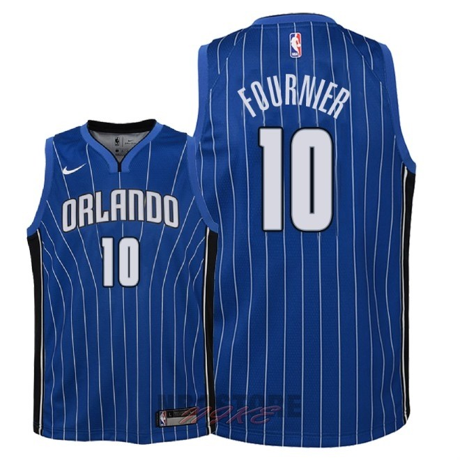 Maglia NBA Bambino Orlando Magic NO.10 Evan Fournier Blu Icon 2018