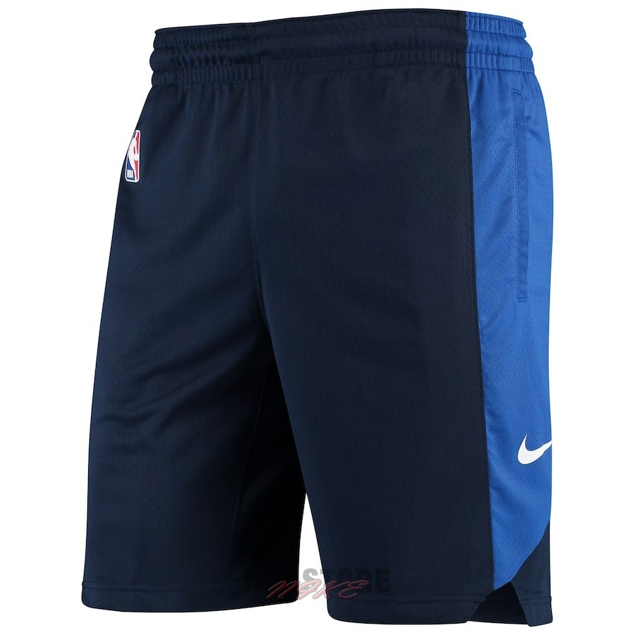 Pantaloni Basket Dallas Mavericks Nike Marino 2018