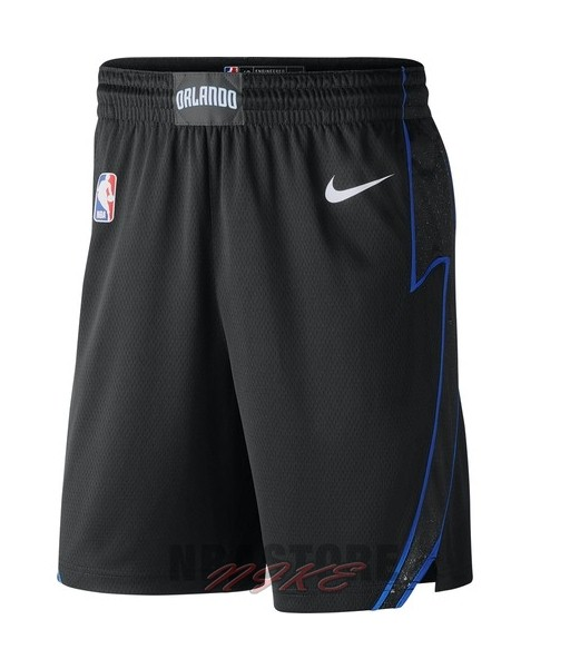 Pantaloni Basket Orlando Magic Nike Nero Città 2018-19