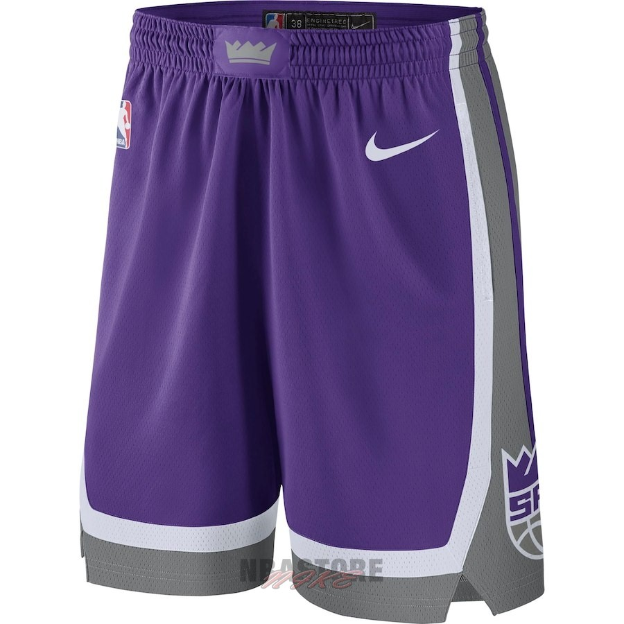Pantaloni Basket Sacramento Kings Nike Porpora Icon 2018