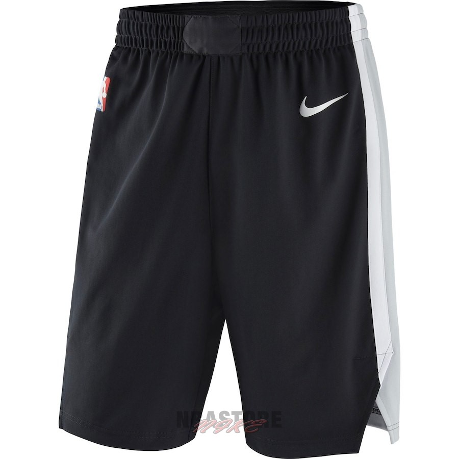 Pantaloni Basket San Antonio Spurs Nike Nero Icon 2018