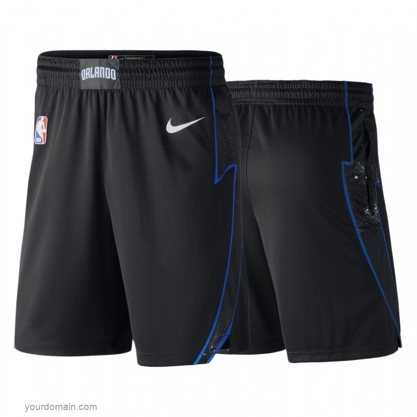 Pantaloni Basket Orlando Magic Nike Nero Nero