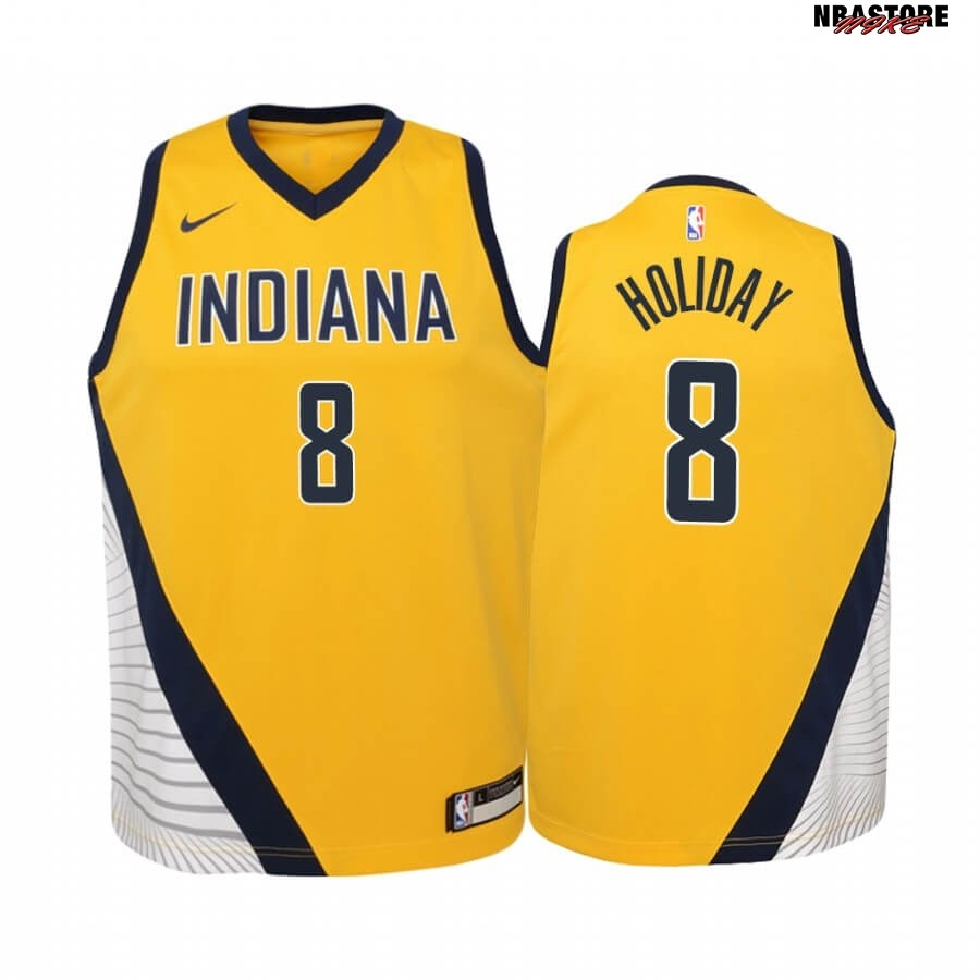 Maglia NBA Bambino Indiana Pacers NO.9 T.J. McConnell Nike Retro Bianco