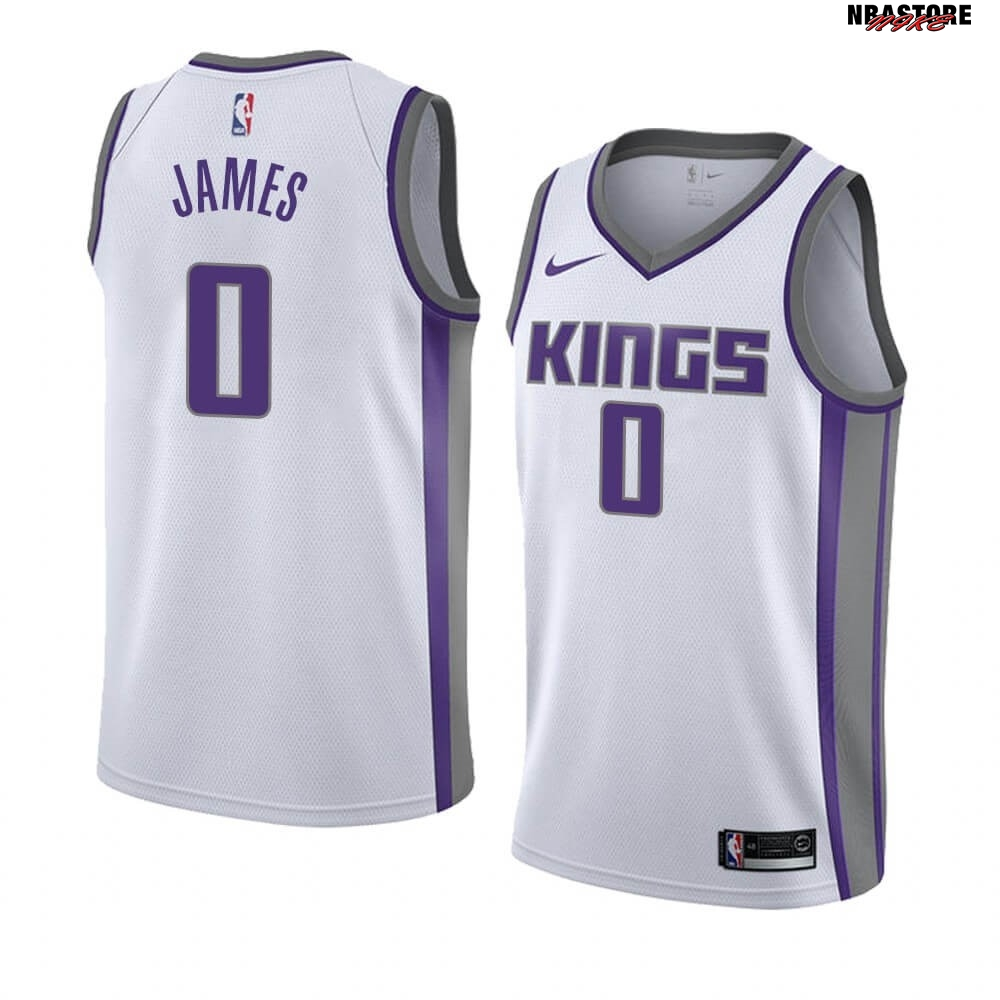 Maglia NBA Nike Sacramento Kings NO.0 Justin James Bianco Association 2019-20