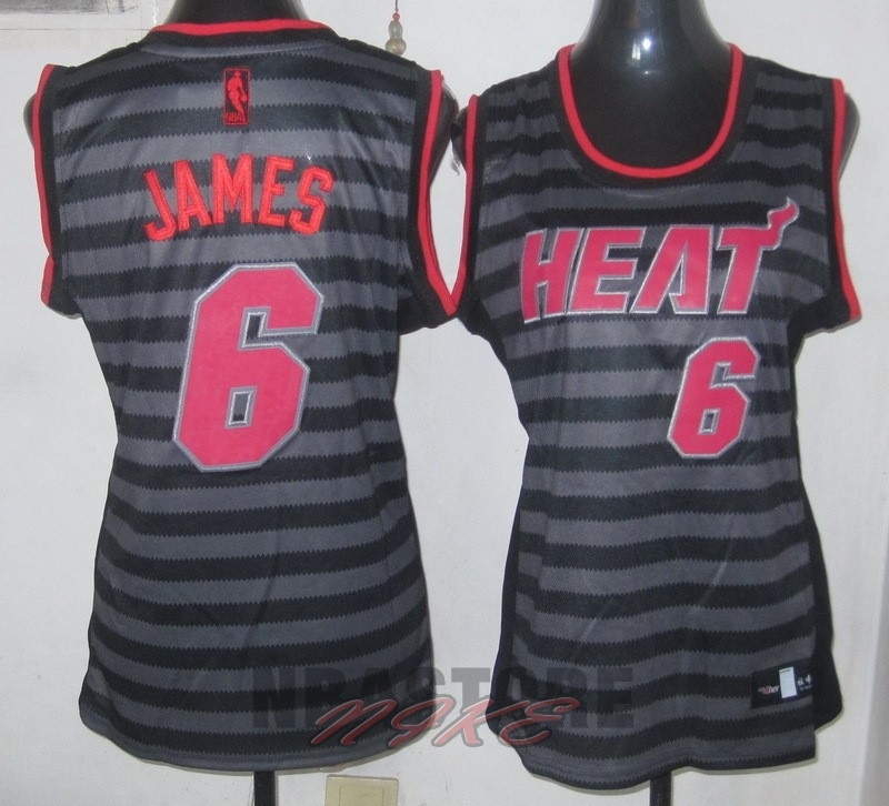 Maglia NBA Donna Fashion Groove NO.6 LeBron James