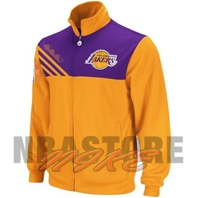 Giacca NBA Los Angeles Lakers Giallo Nero