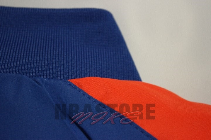 Giacca NBA New York Knicks Blu Arancia