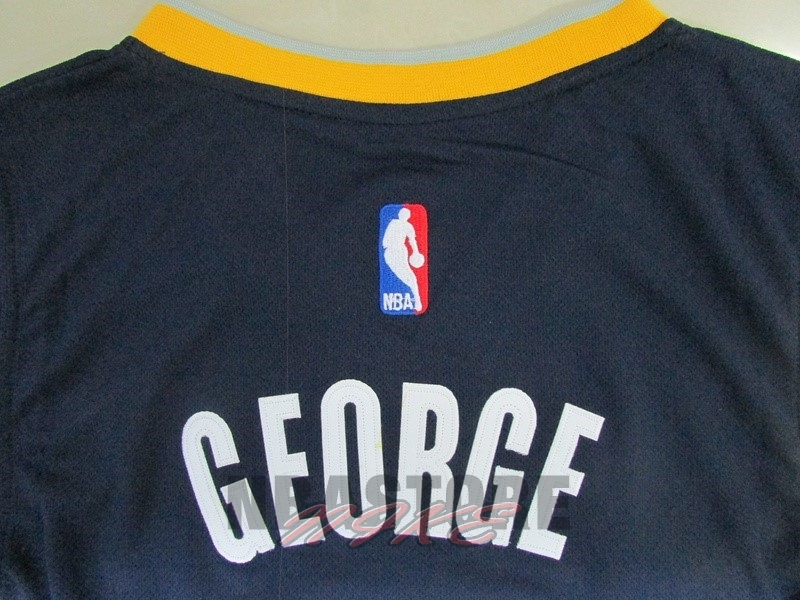 Maglia NBA Indiana Pacers NO.13 Paul George Blu
