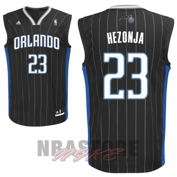 Maglia NBA Orlando Magic NO.23 Mario Hezonja Nero