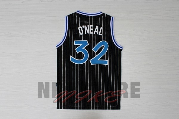 Maglia NBA Orlando Magic NO.32 Shaquille O'Neal Nero