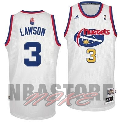 Maillo ABA Denver Nuggets NO.3 Lawson Bianco