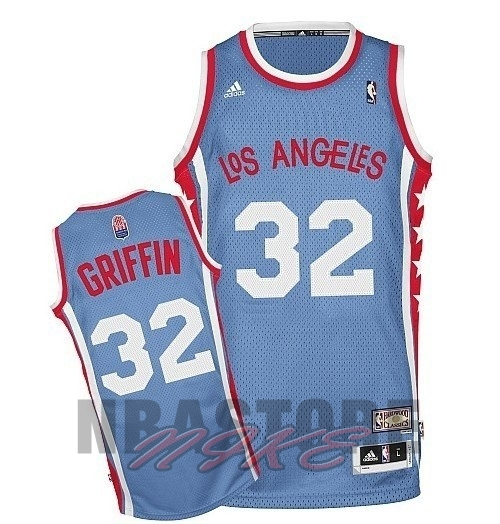 Maillo ABA Los Angeles Clippers NO.32 Griffin Grigio