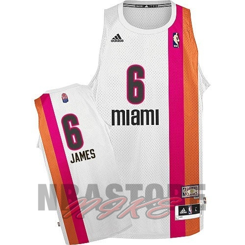 Maillo ABA Miami Heats NO.6 James Bianco