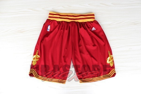Pantaloni Basket Cleveland Cavaliers Rosso