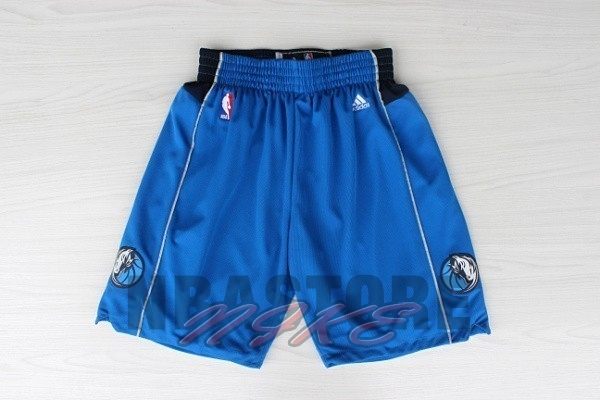 Pantaloni Basket Dallas Mavericks Blu