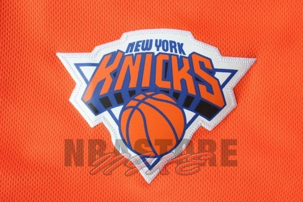 Pantaloni Basket New York Knicks Arancia