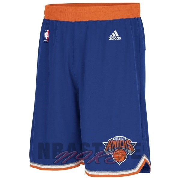Pantaloni Basket New York Knicks Blu