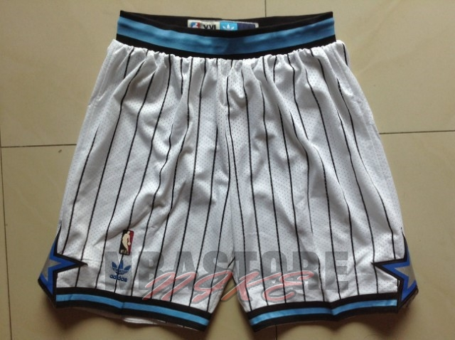 Pantaloni Basket Orlando Magic Bianco Striscia
