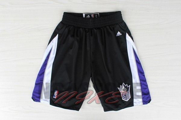 Pantaloni Basket Sacramento Kings Nero