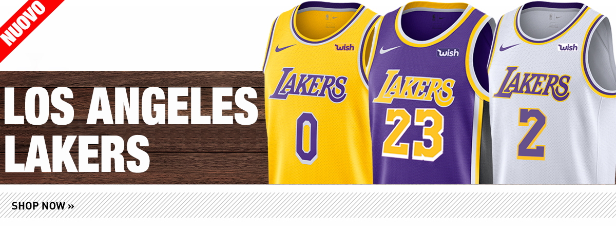 Maglie NBA Los Angeles Lakers 2018-19